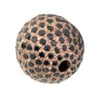 Pave Balls With Gold Black Diamond