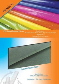 Pvc Coated Polyester Fabric