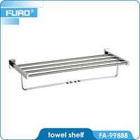Wall Mounted Bathroom Towel Shelf