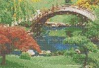 Garden Print Handmade Tiles