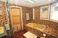 Printed Glass Mosaic Tiles For Bathroom