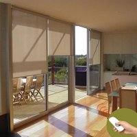 Motorized Roller Blind With Remote