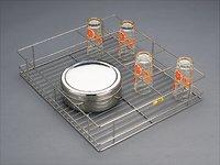 Ss Glass Basket