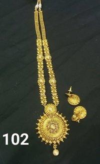 Long Imitation Necklace
