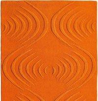Orange Carpet in Bhadohi