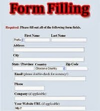 Easy Online Form Filling Process