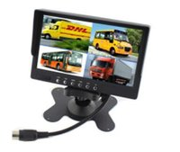 Cheap New 7inch Car Monitor With 4 Chanels Av Inputs