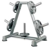 Gym Plate Stand