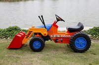 4 Wheel Plastic Loader Toy