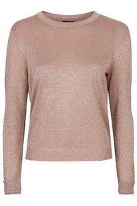 Ladies Round Neck Knit Sweater