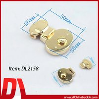 2015 Antique Gold Hardware Lock For Purse