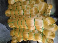 Yellow Monofilament Yarn