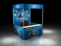 Promotional Table Advertising Canopy