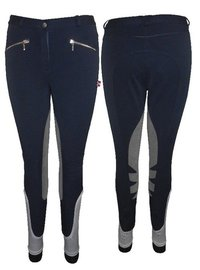 Horse Riding Breeches With Long Silicone Knee Patch Breech