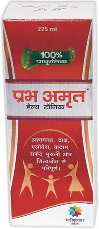 Prabhamrit Herbal Health Tonic For Memory, Immunity Booster