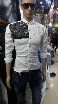 Jute Leather Pattern Shirt