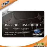 Cr80 Standard Pvc Cmyk Glossy Card
