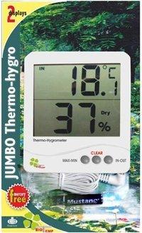 Digital Thermo/Hygrometer Jumbo Display