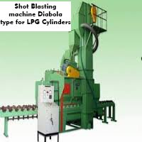 Shot Blasting Machine Diabola Type For Lpg Cylinders
