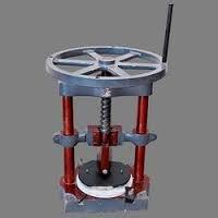 Paper Plate Manual Machine