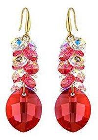 Crystal Stone Earrings For Women (Ce94_alloy_white)