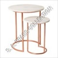 Round Nesting Table