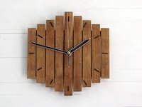 Vintage And Antiques Designer Wood Wall Clock