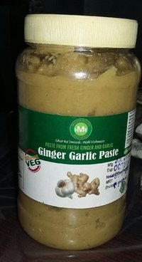 Fresh Ginger Garlic Paste