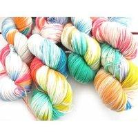 Dyed Rainbow Yarn