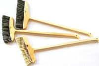 Dust And Rubbish Cleaning Wooden Broom