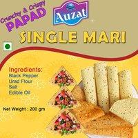 Single Mari Papads