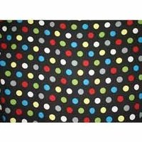 Abstract Printed Chiffon Fabric