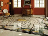 Exclusive Marble Inlay Flooring