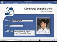 Digital School Id Card