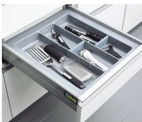 Cutlery Tray Silver Grey