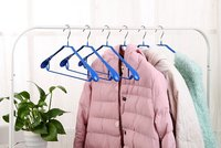 Anti-Slip Solid Pvc Coated Metal Wire Hanger