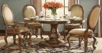 Jewel Pier Wooden Dining Table