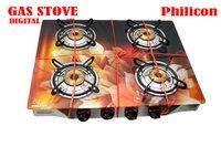 Four Burner Digital Gas Stove
