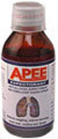 Apee Expectorant Cough And Cold Syrup