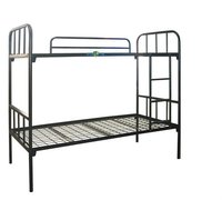 Double Floor Stainless Steel Bed