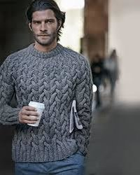 Stylish And Heavy Fabric Knitted Men Sweater