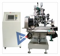 3-Axis 2-Head Hairbrush Drilling And Tufting Machine
