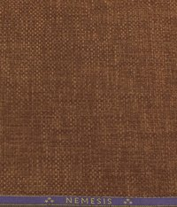 Copper Cotton Linen Jute Weave Blazer Fabric