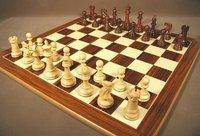 Designer Wooden Chess Set<