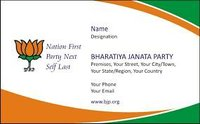 Color Visiting Card Service