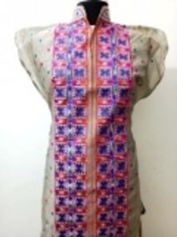 Ladies Long Silk Kurtis