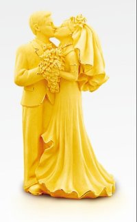 Gold Plated Handicraft Of Mutual Affinity