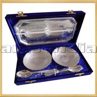 Epns Bowl Set With Wooden Box Gift Set