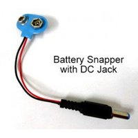Battery Snapper With Dc Jack
