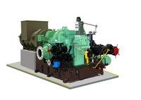 Multistage Back Pressure Steam Turbine